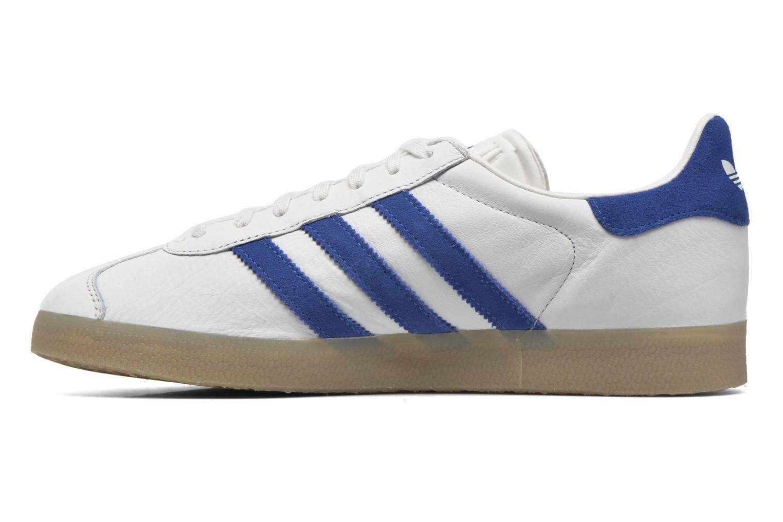Sneakers Adidas Originals Gazelle Wit voorkant