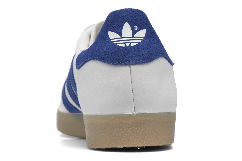 Sneakers Adidas Originals Gazelle Wit rechts