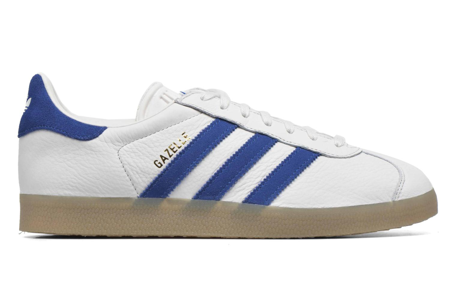 Sneakers Adidas Originals Gazelle Wit achterkant