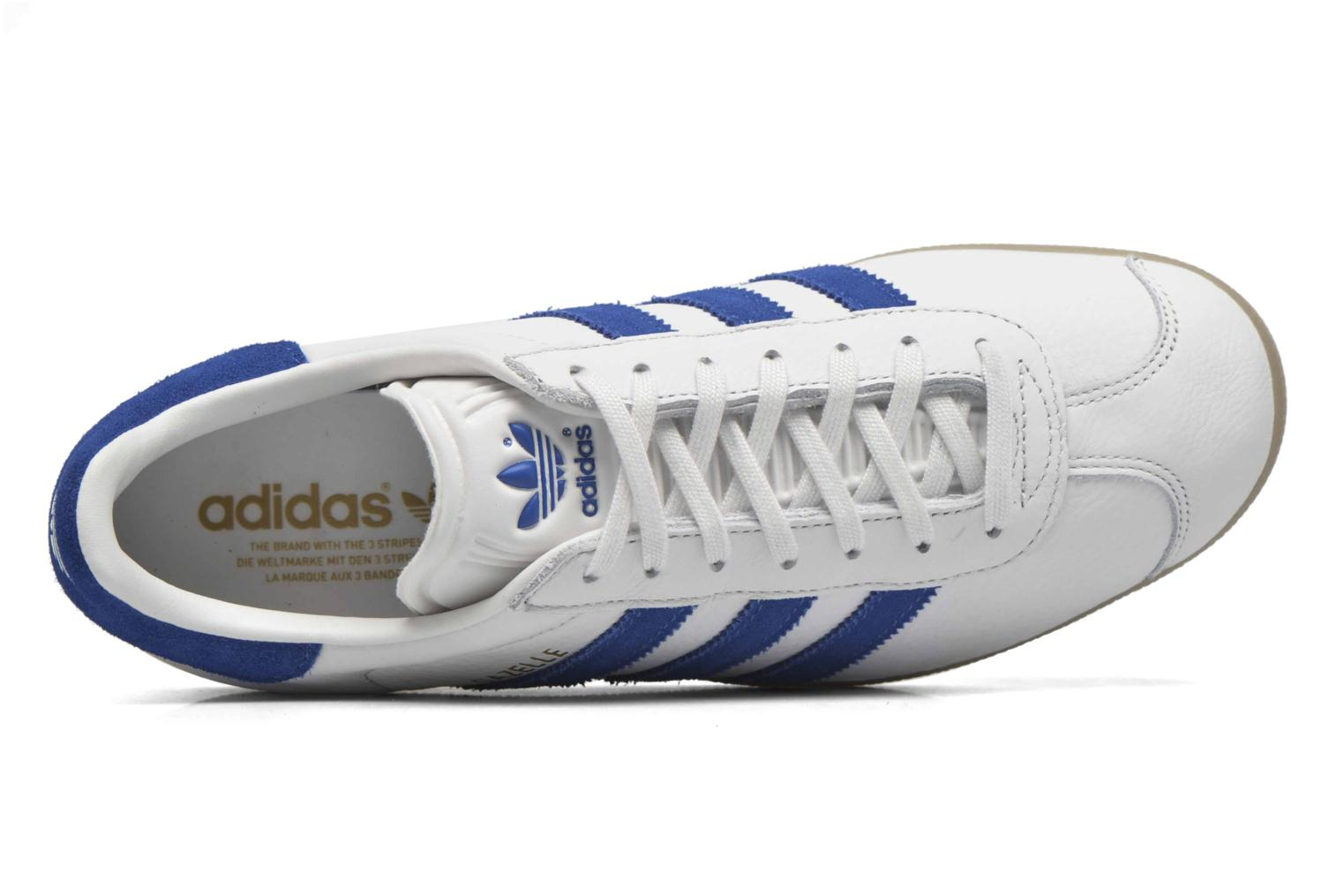 Sneakers Adidas Originals Gazelle Wit links