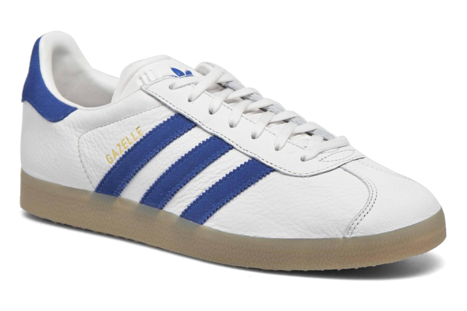 Sneakers Adidas Originals Gazelle Wit detail