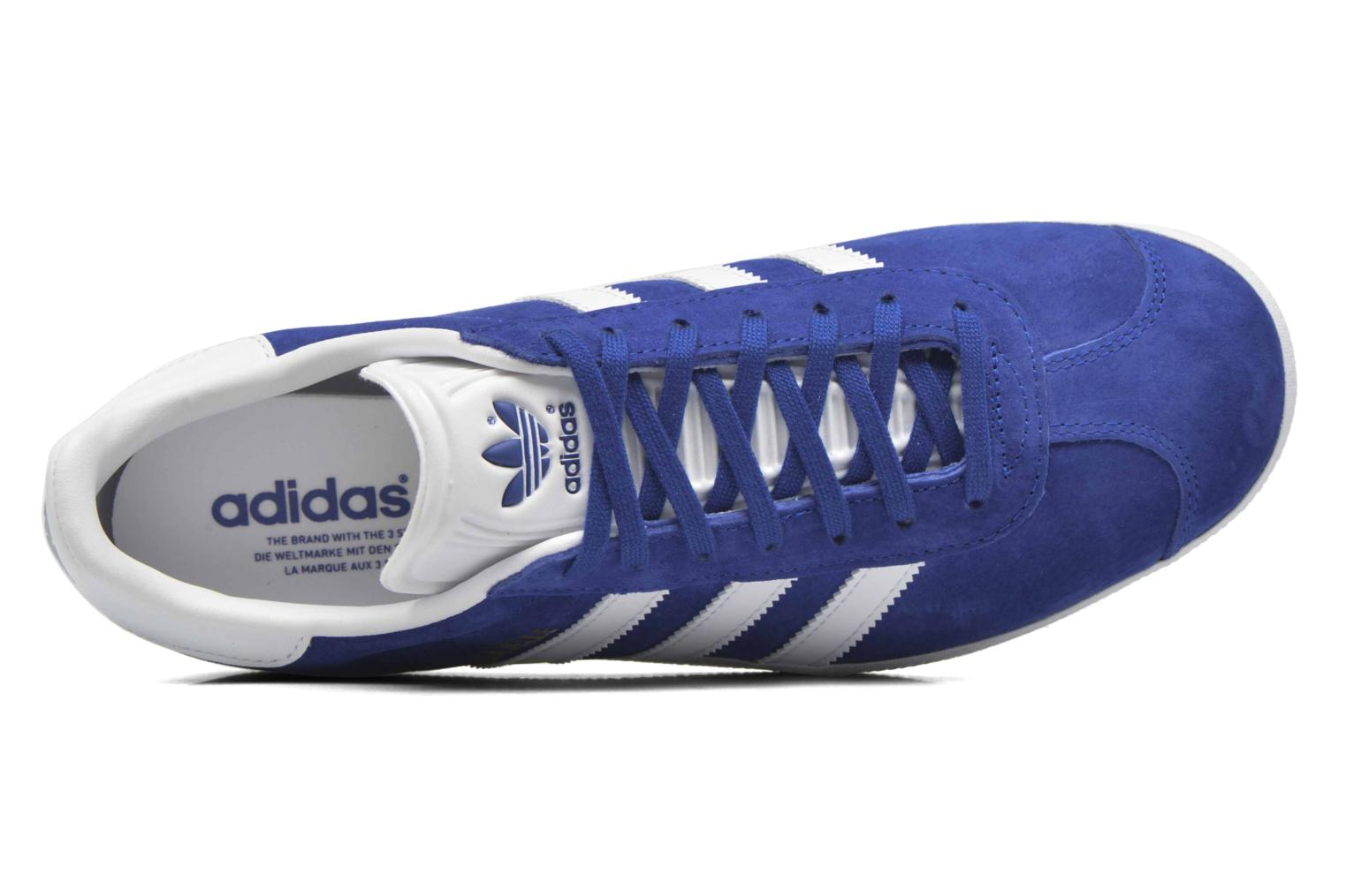 Sneakers Adidas Originals Gazelle Blauw links