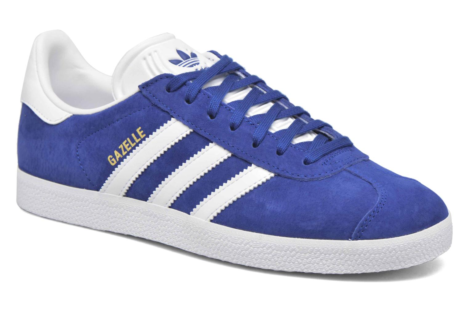 Sneakers Adidas Originals Gazelle Blauw detail