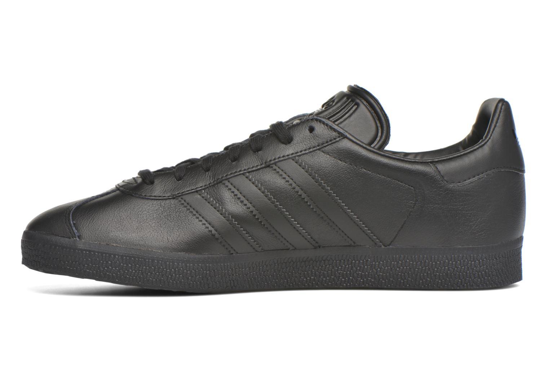 Baskets Adidas Originals Gazelle Noir vue face