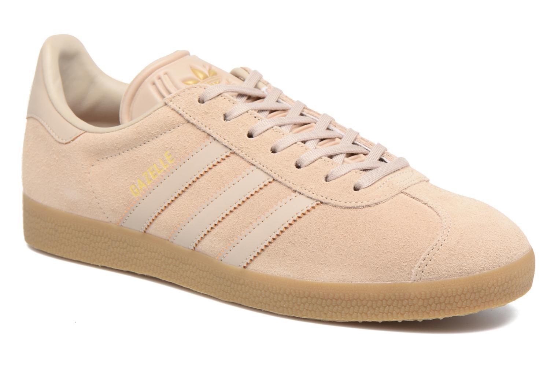 Baskets Adidas Originals Gazelle Beige vue détail/paire