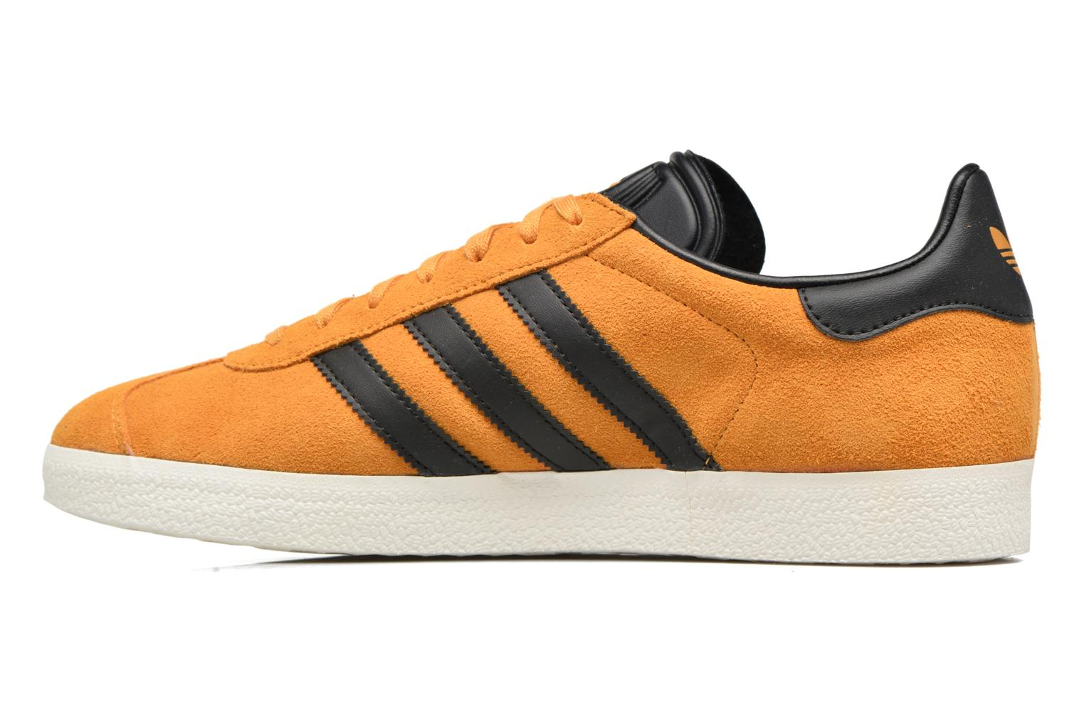 Baskets Adidas Originals Gazelle Jaune vue face
