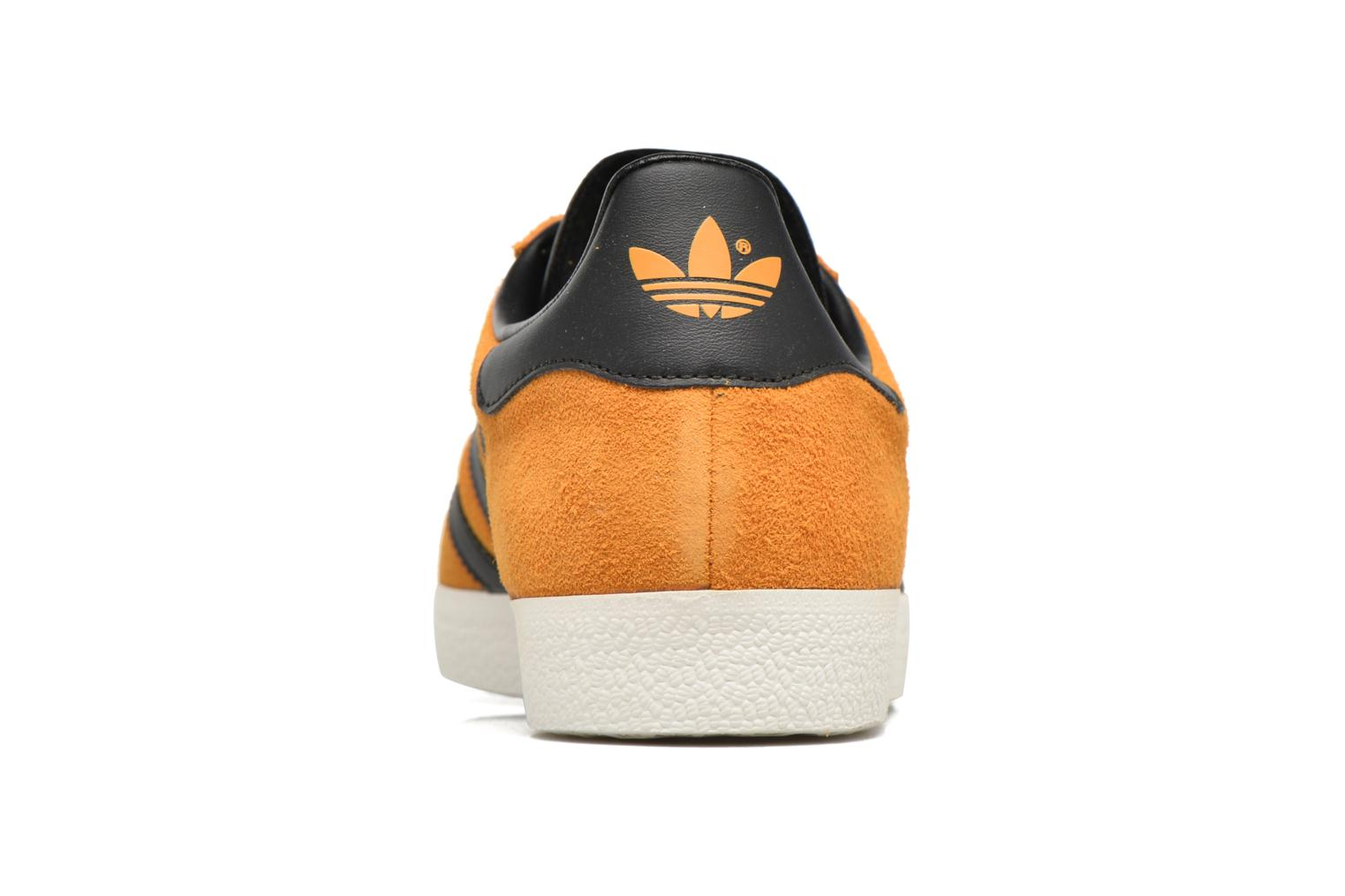 Baskets Adidas Originals Gazelle Jaune vue droite