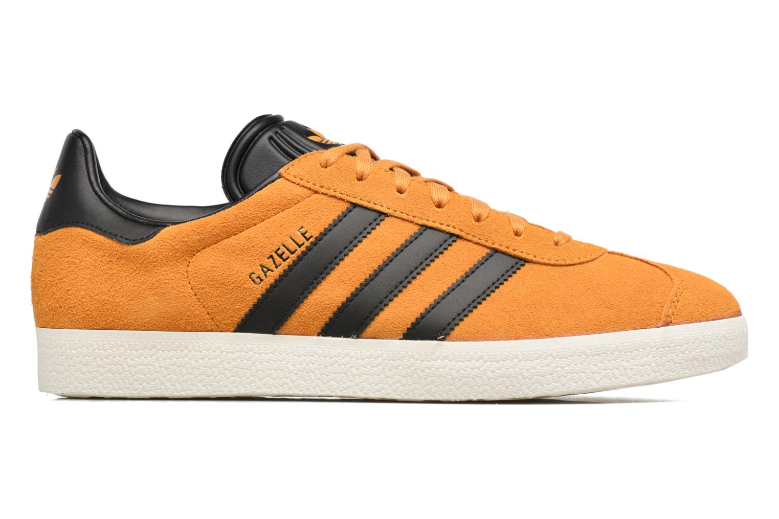 Baskets Adidas Originals Gazelle Jaune vue derrière