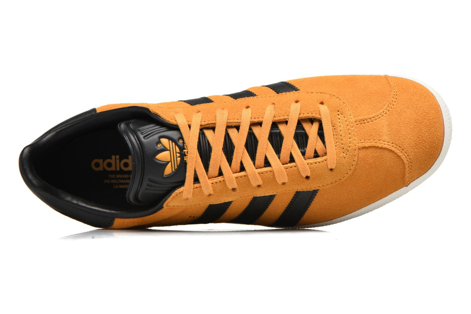 Baskets Adidas Originals Gazelle Jaune vue gauche