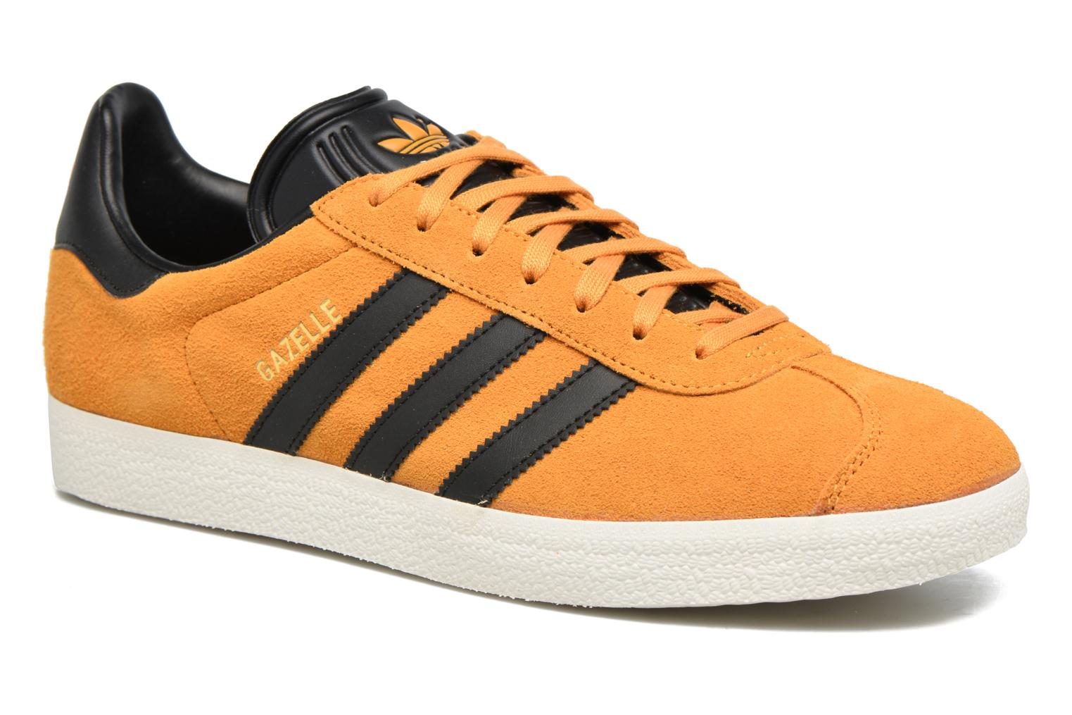 Baskets Adidas Originals Gazelle Jaune vue détail/paire