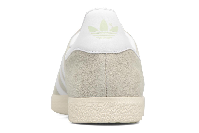 Sneaker Adidas Originals Gazelle grün ansicht von rechts