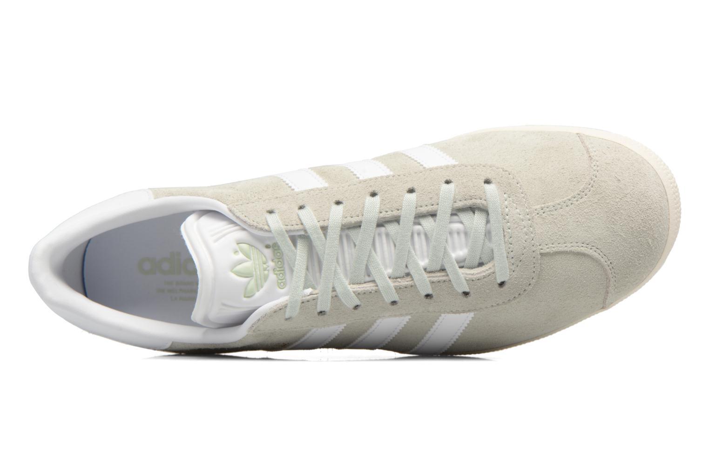 Sneaker Adidas Originals Gazelle grün ansicht von links