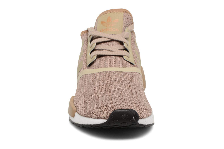 Sneaker Adidas Originals Nmd_R1 braun schuhe getragen