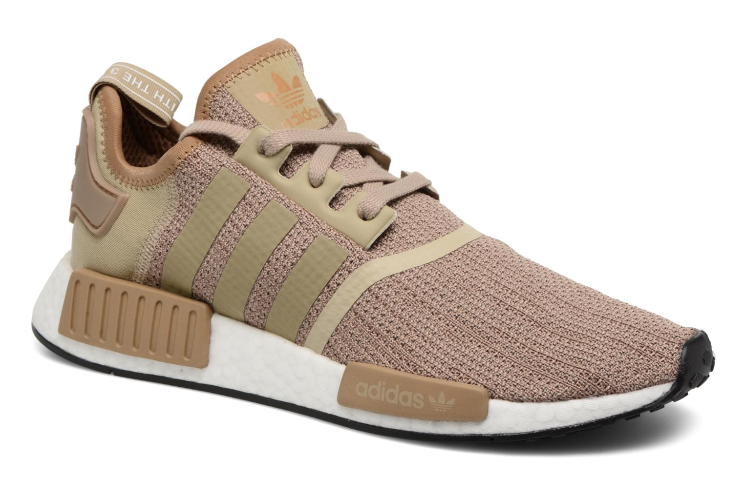 Baskets Adidas Originals Nmd_R1 Marron vue détail/paire