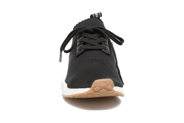 Sneaker Adidas Originals Nmd_R1 Pk schwarz schuhe getragen