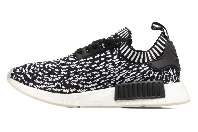Sneaker Adidas Originals Nmd_R1 Pk schwarz ansicht von vorne