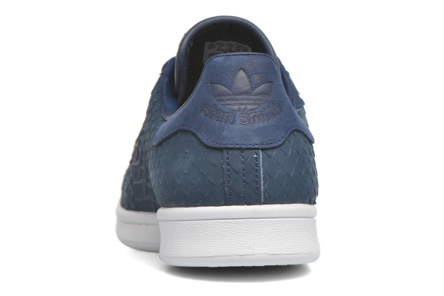Baskets Adidas Originals Stan Smith Decon Bleu vue droite