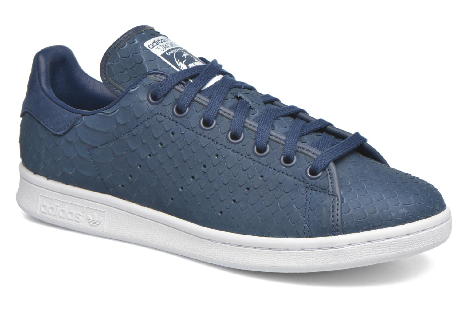 Baskets Adidas Originals Stan Smith Decon Bleu vue détail/paire