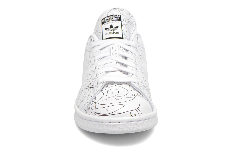 Baskets Adidas Originals Stan Smith Ro W Blanc vue portées chaussures