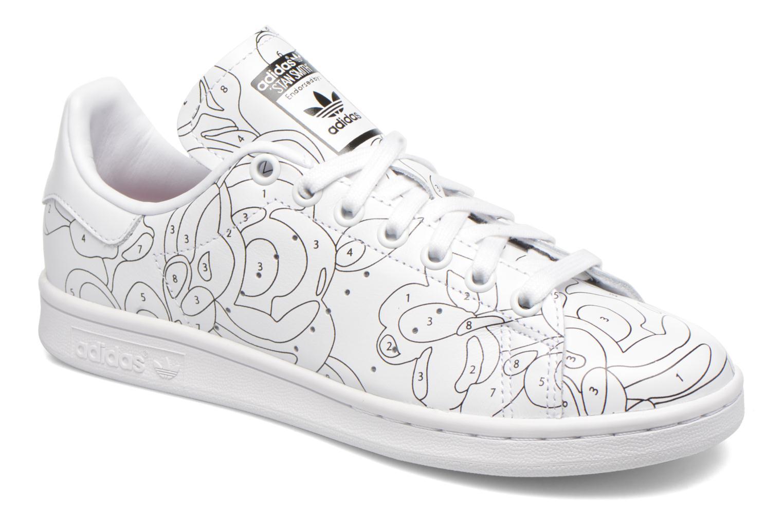 Baskets Adidas Originals Stan Smith Ro W Blanc vue détail/paire