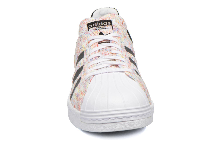 Sneaker Adidas Originals Superstar 80S Pk weiß schuhe getragen