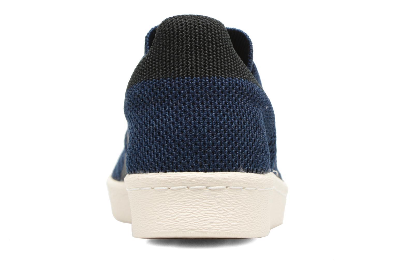 Baskets Adidas Originals Superstar 80S Pk Bleu vue droite