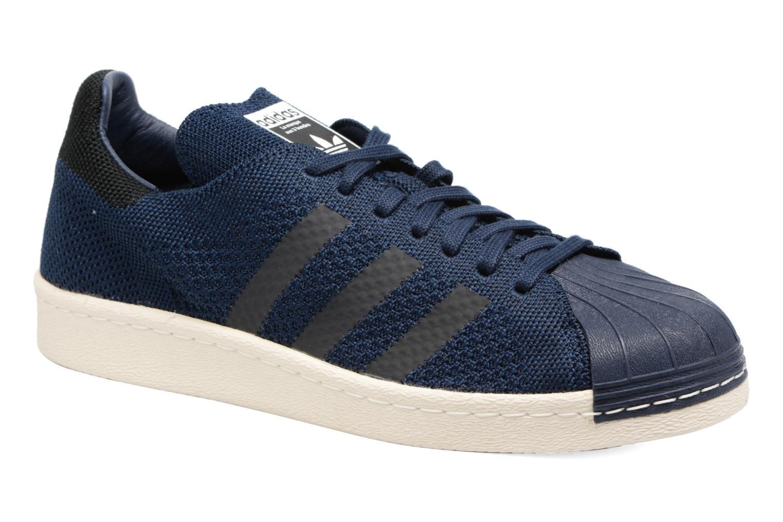 Baskets Adidas Originals Superstar 80S Pk Bleu vue détail/paire