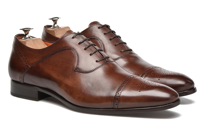 Chaussures à lacets Marvin&Co Luxe Pemou - Cousu Blake Marron vue 3/4