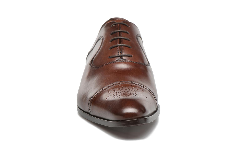 Snörade skor Marvin&Co Luxe Pemou - Cousu Blake Brun bild av skorna på