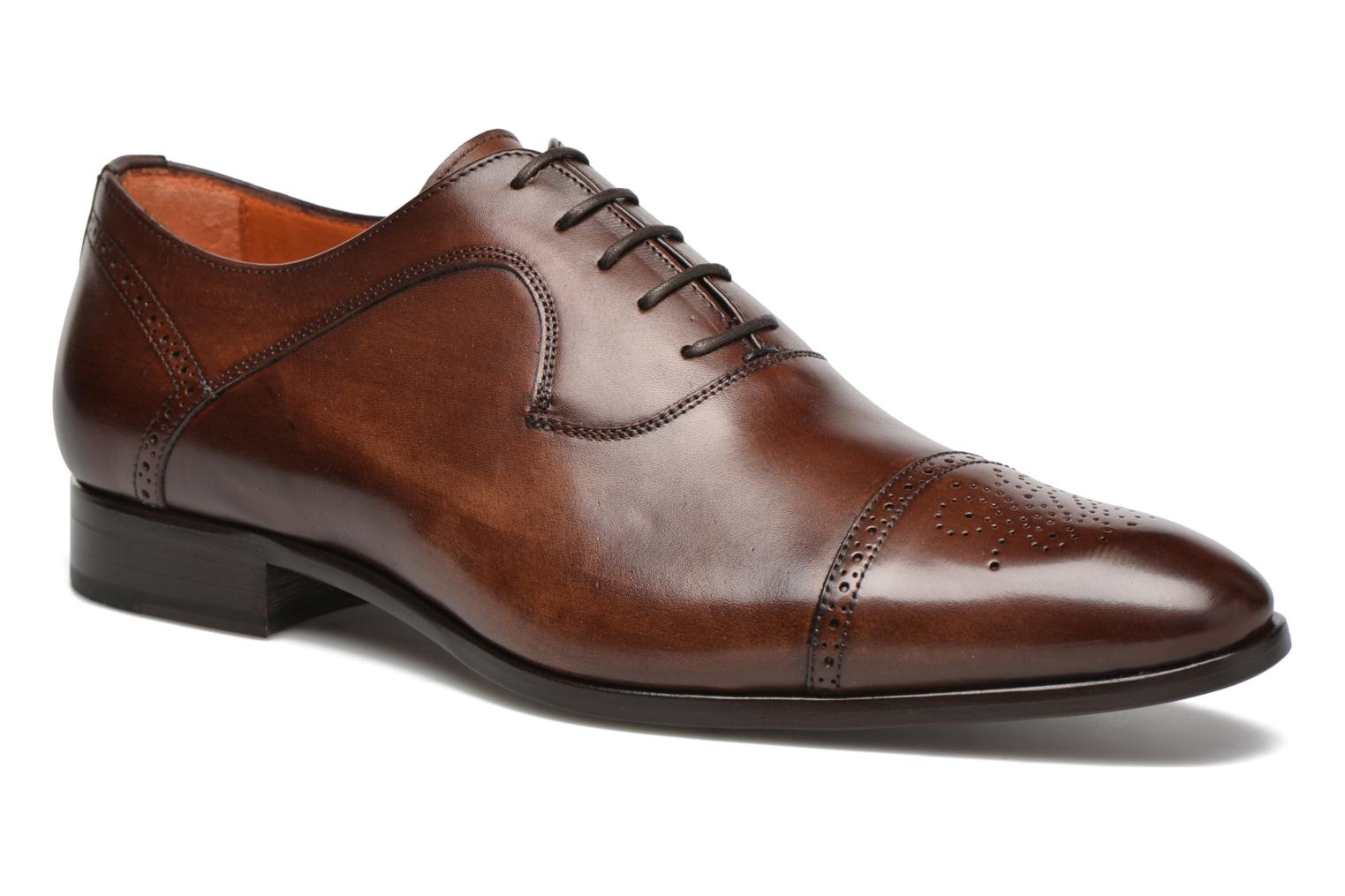 Marques Chaussure luxe homme Marvin&Co Luxe homme Pemou - Cousu Blake Positano castagna