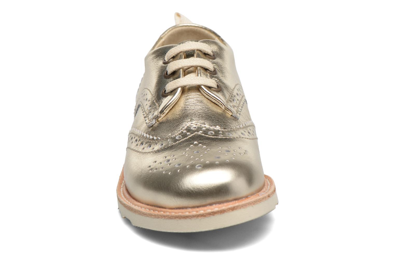 Chaussures à lacets Young Soles Brando Or et bronze vue portées chaussures