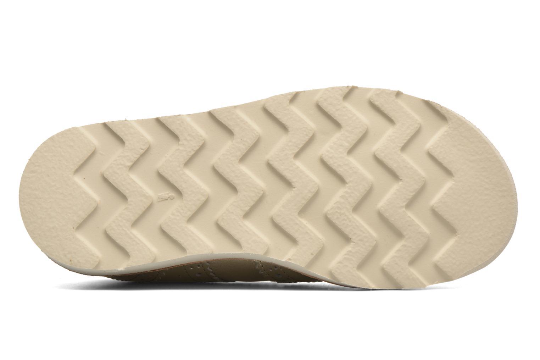 Chaussures à lacets Young Soles Brando Or et bronze vue haut