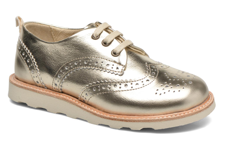 Chaussures à lacets Young Soles Brando Or et bronze vue détail/paire