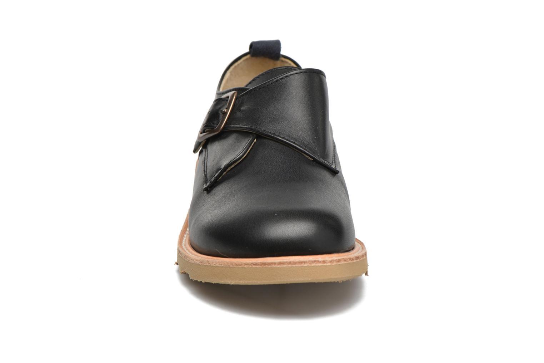 Mocassins Young Soles Charlie Noir vue portées chaussures