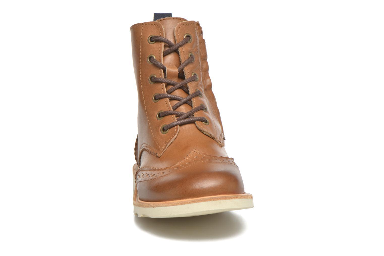 Bottines et boots Young Soles Sidney Marron vue portées chaussures