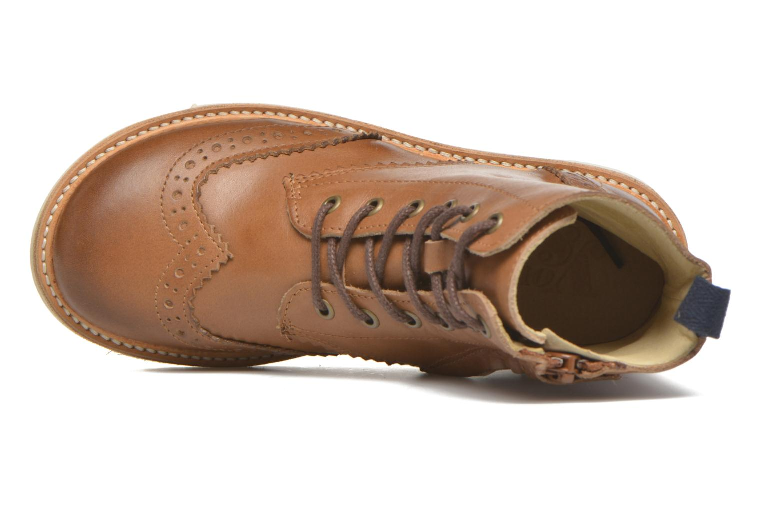 Sidney TAN BURNISHED LEATHER