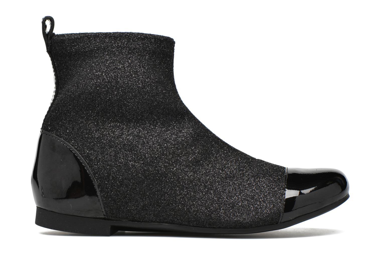 Ankelstøvler Pom d Api Dory Boots Stretch Sort se bagfra