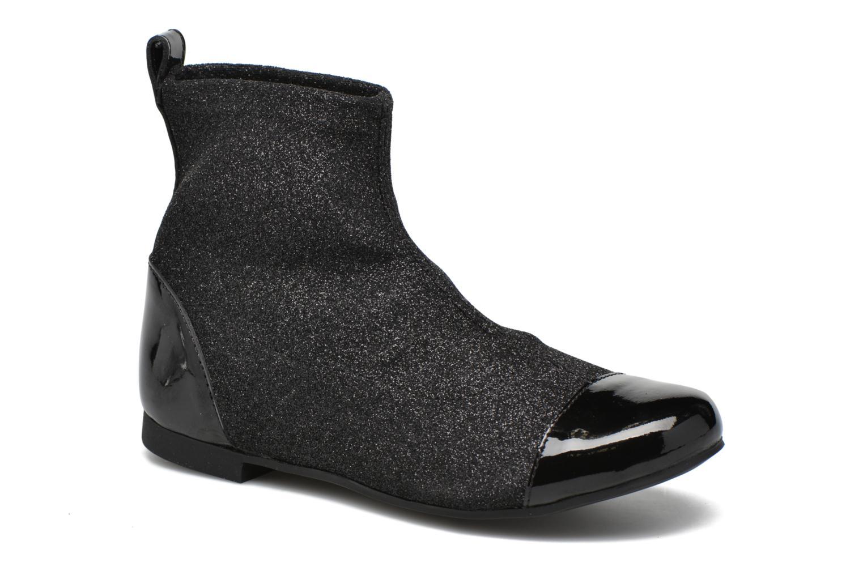 Ankelstøvler Pom d Api Dory Boots Stretch Sort detaljeret billede af skoene