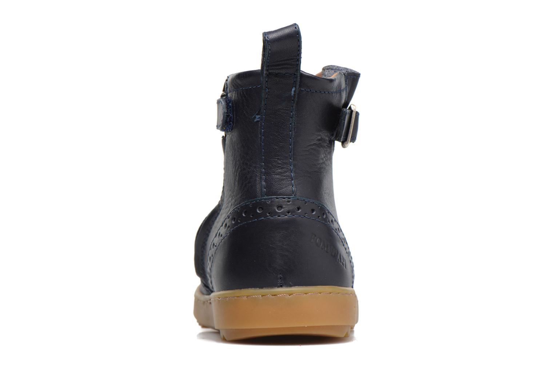 Bottines et boots Pom d Api Wouf Boots Bleu vue droite