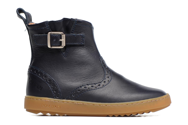 Bottines et boots Pom d Api Wouf Boots Bleu vue derrière