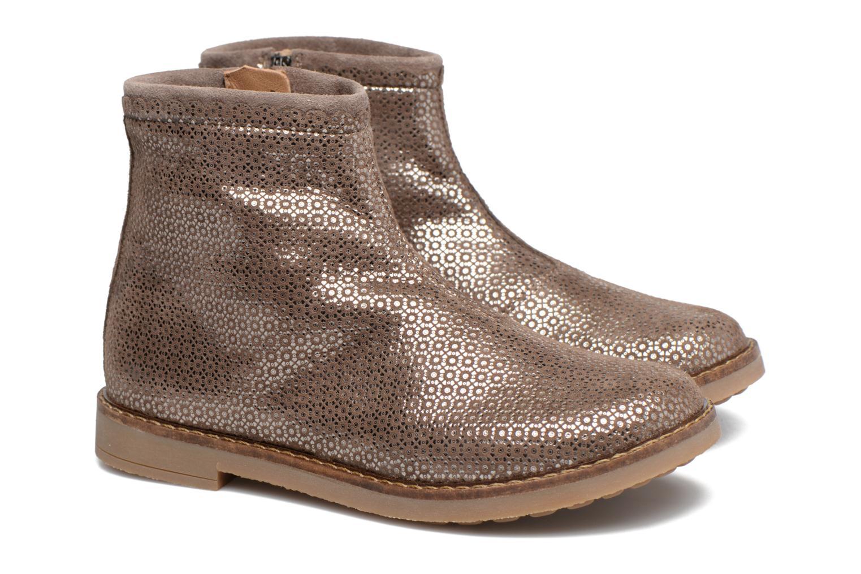 Bottines et boots Pom d Api Trip Boots Croquet Marron vue 3/4