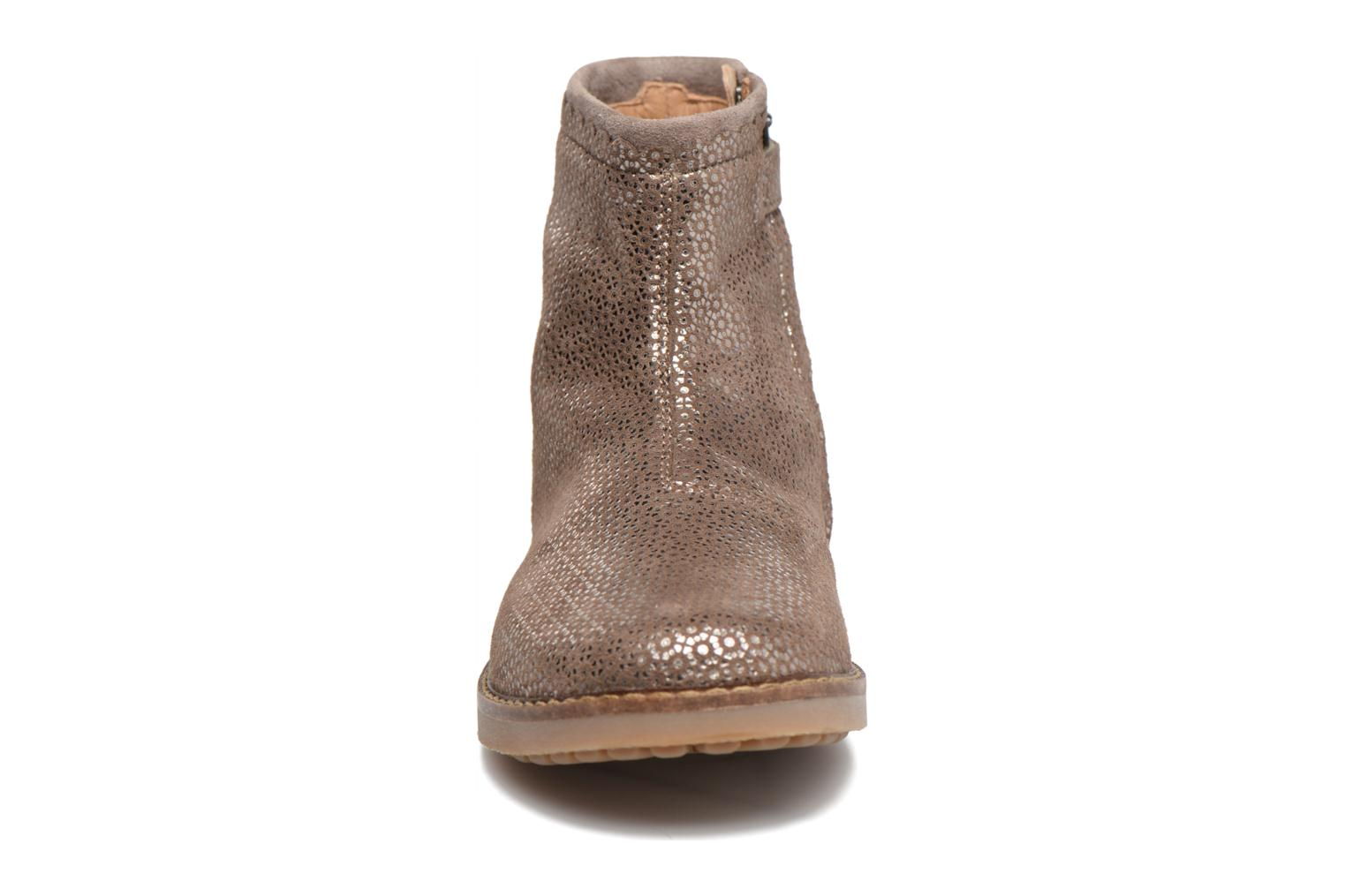 Trip Boots Croquet Camurca Taupe