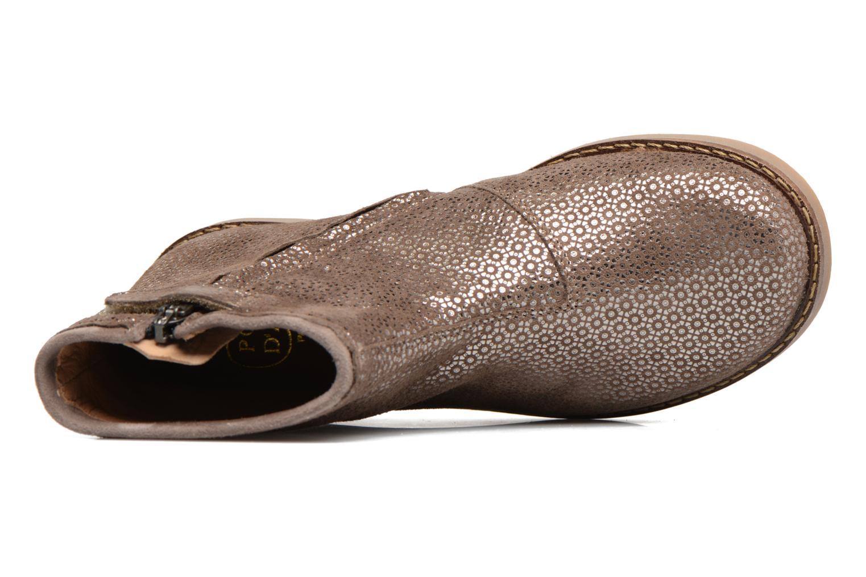 Bottines et boots Pom d Api Trip Boots Croquet Marron vue gauche