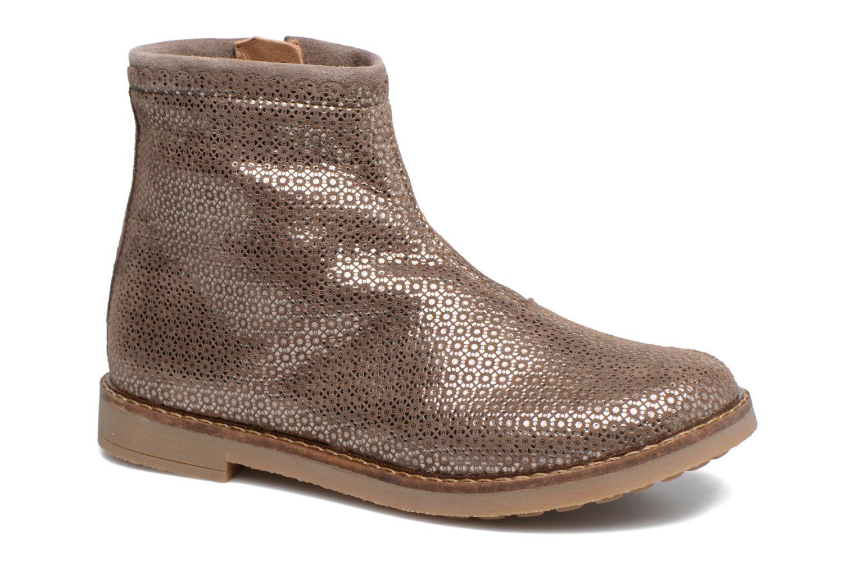 Bottines et boots Pom d Api Trip Boots Croquet Marron vue détail/paire