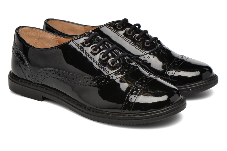 Chaussures à lacets Pom d Api City Richelieu Noir vue 3/4