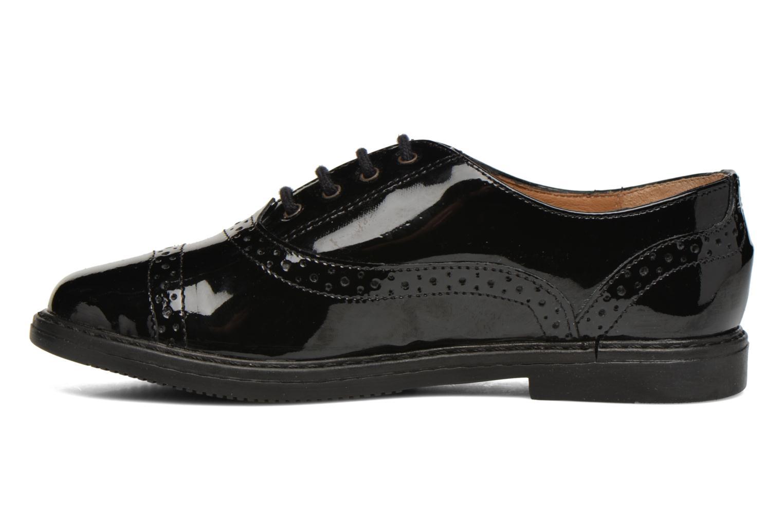 Chaussures à lacets Pom d Api City Richelieu Noir vue face