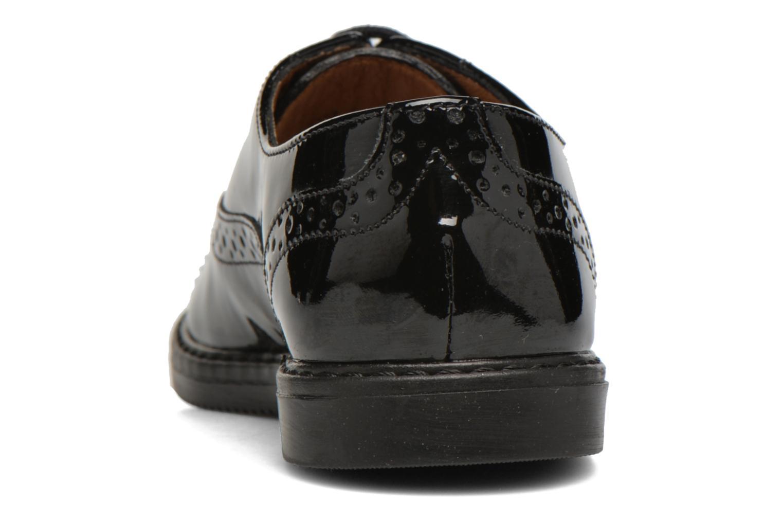 Chaussures à lacets Pom d Api City Richelieu Noir vue droite