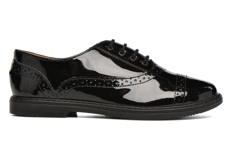Chaussures à lacets Pom d Api City Richelieu Noir vue derrière