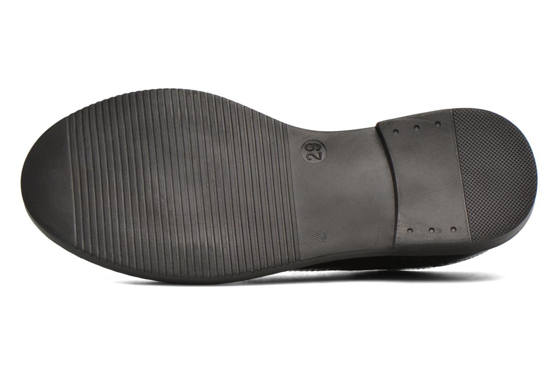 Chaussures à lacets Pom d Api City Richelieu Noir vue haut