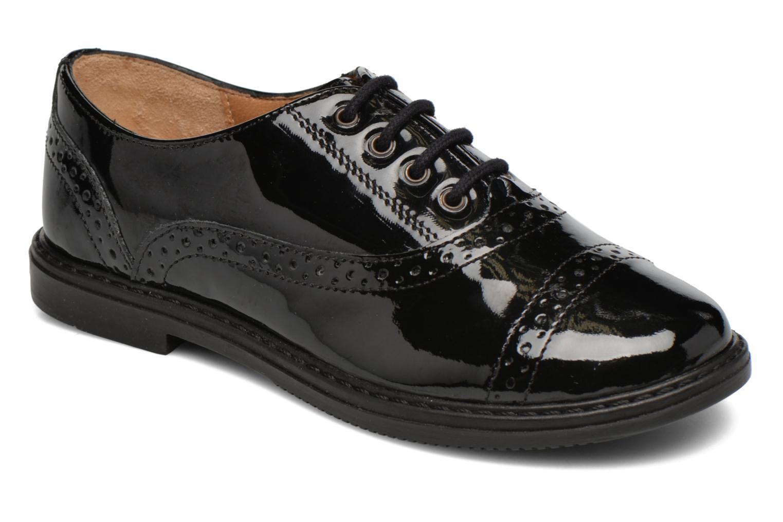 Chaussures à lacets Pom d Api City Richelieu Noir vue détail/paire